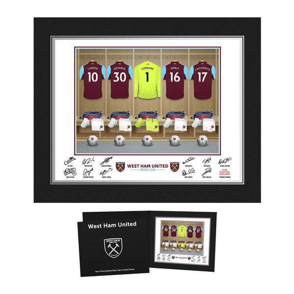 West Ham United FC Goalkeeper Dressing Room Photo Folder
