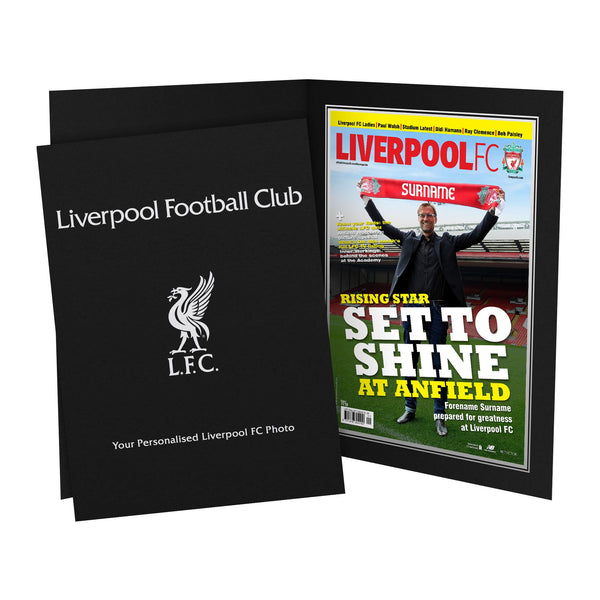Liverpool FC Magazine Front Cover Photo Folder