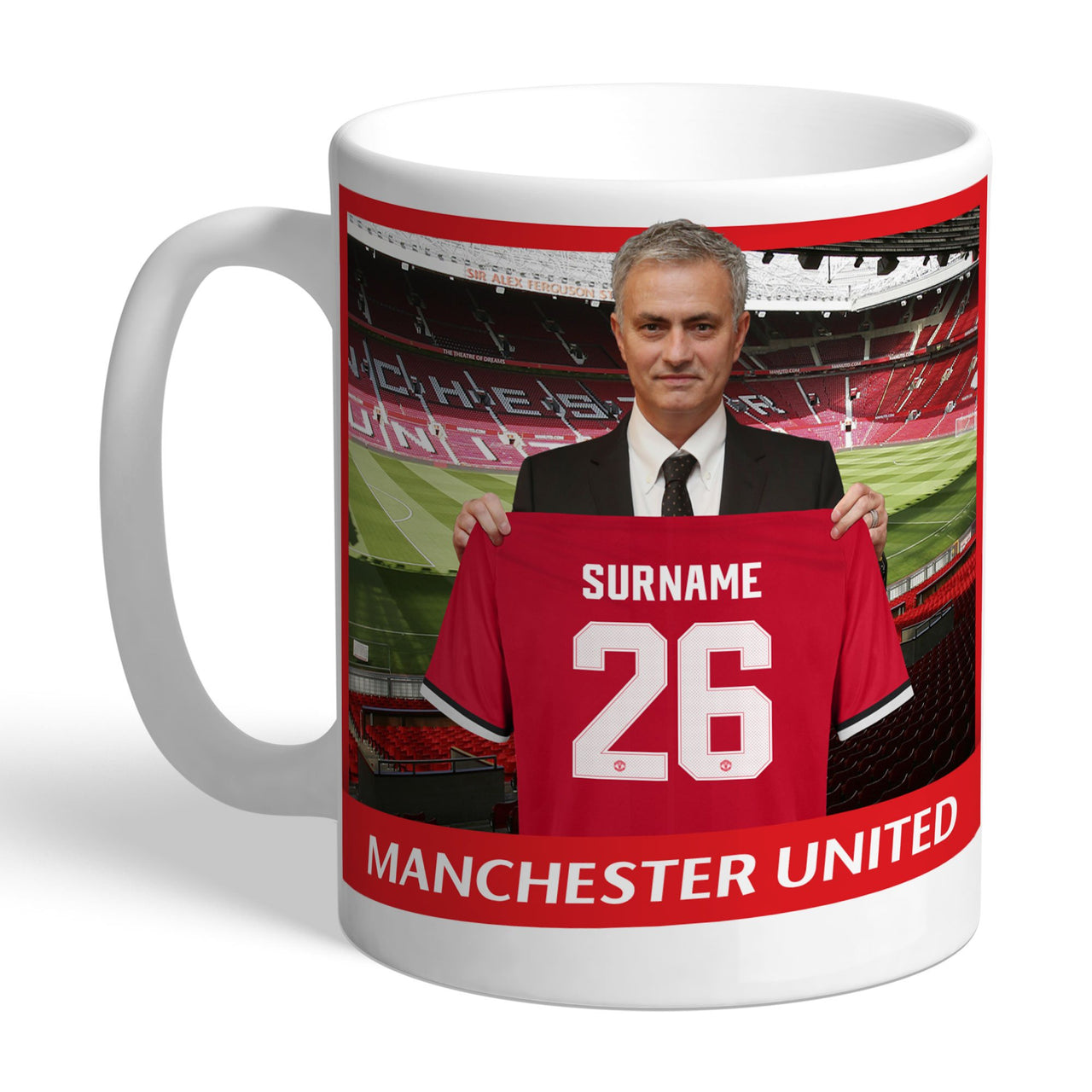 Manchester United FC Manager Mugs, Gifts