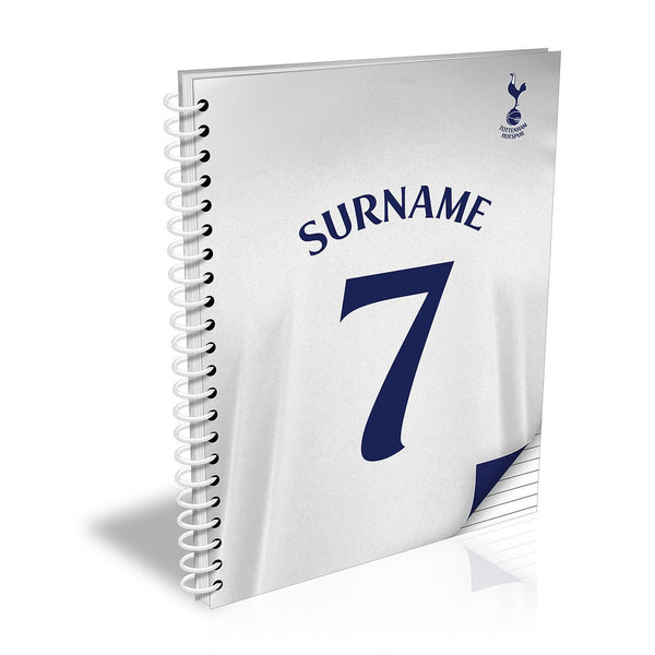Tottenham Hotspur FC Shirt Notebook