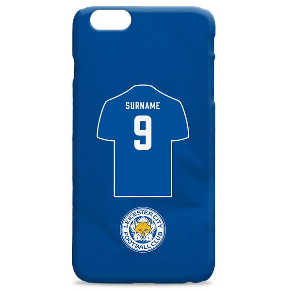 Leicester City FC Shirt Hard Back Phone Case, Gifts