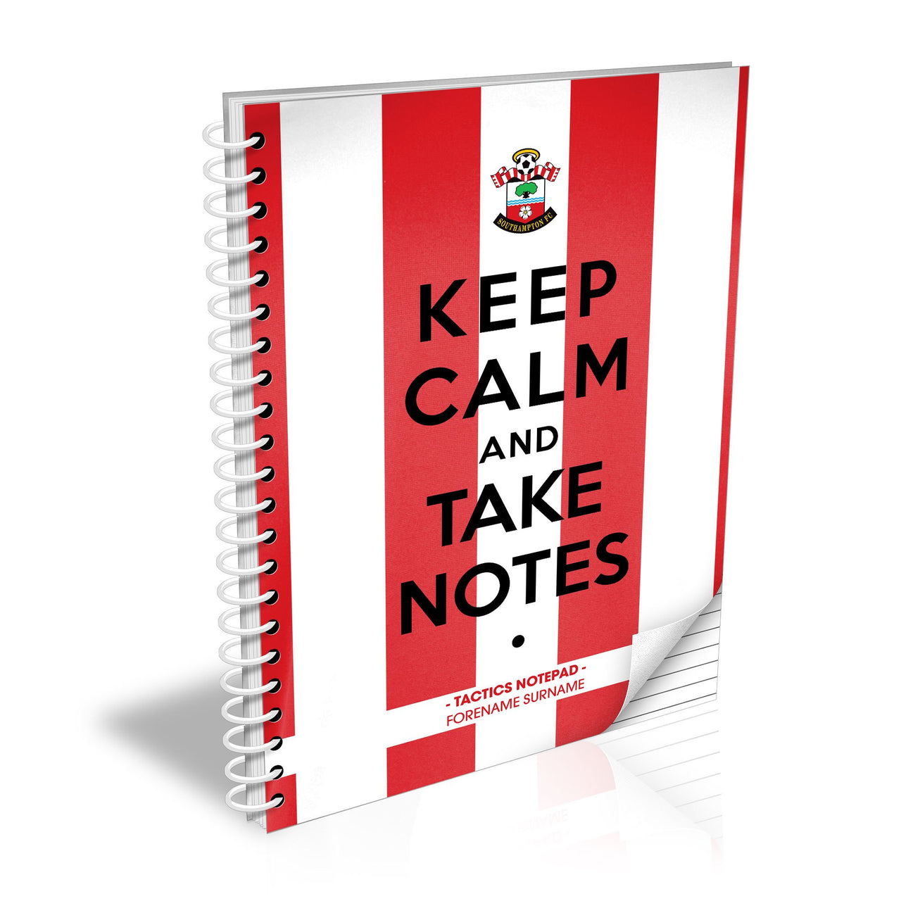 Southampton FC Keep Calm Notebook