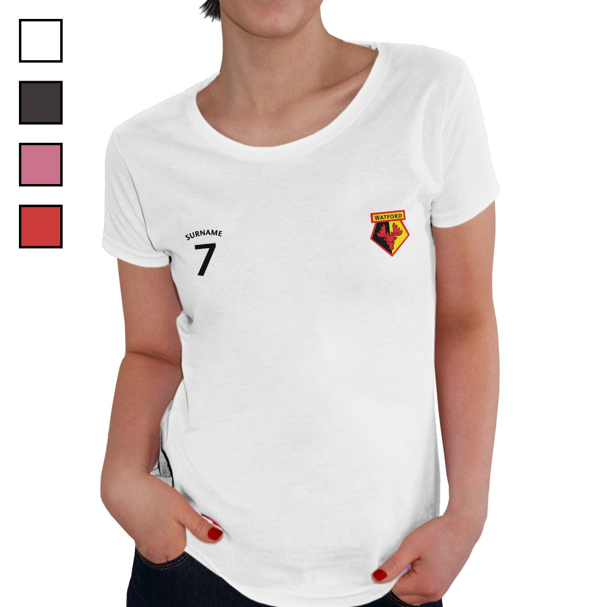 Watford FC Ladies Sports T-Shirt