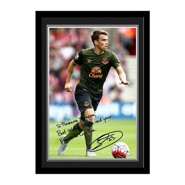 Everton FC Coleman Autograph Photo Framed