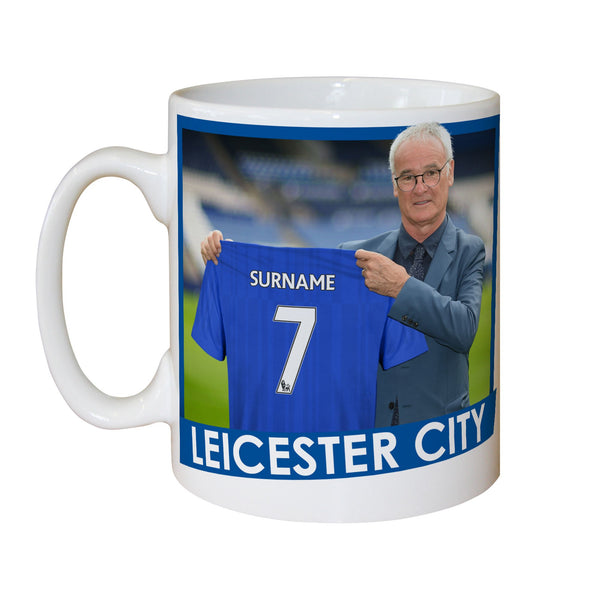 Leicester City FC Manager Mugs, Gifts