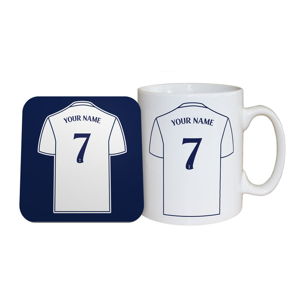 Tottenham Hotspur FC Shirt Mugs, Gifts & Coaster Set
