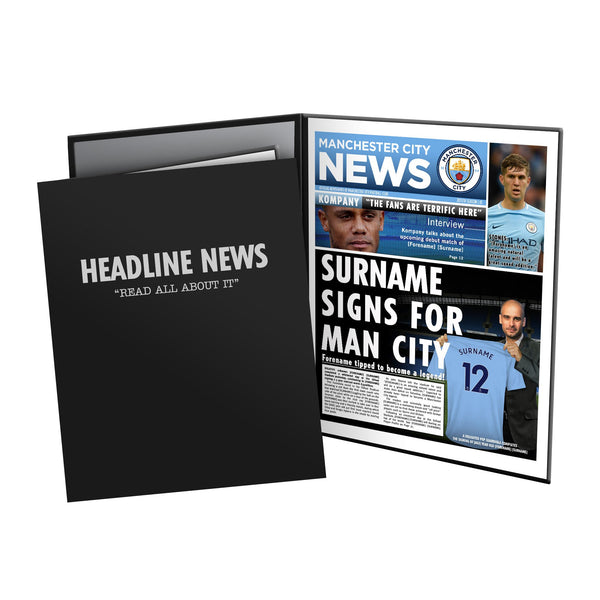 Manchester City FC News Folder