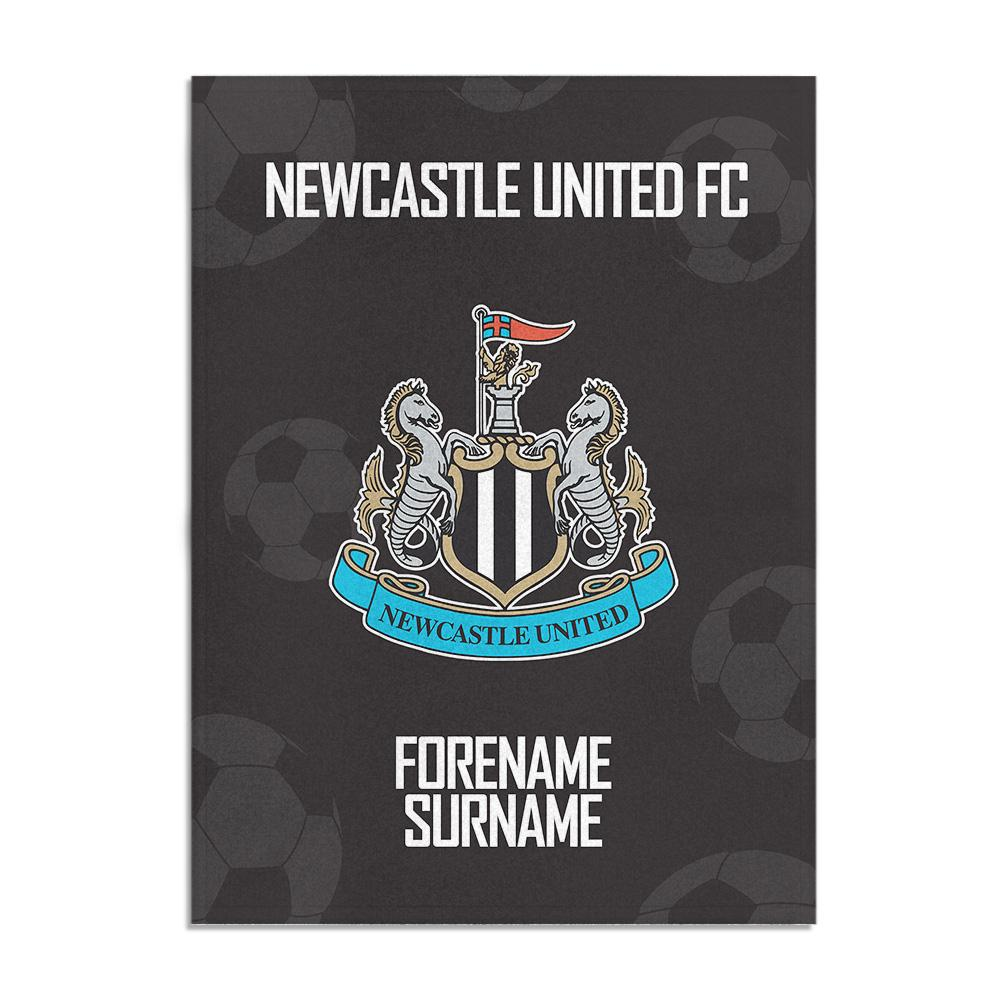 Newcastle United FC Crest Blanket (100cm X 75cm)
