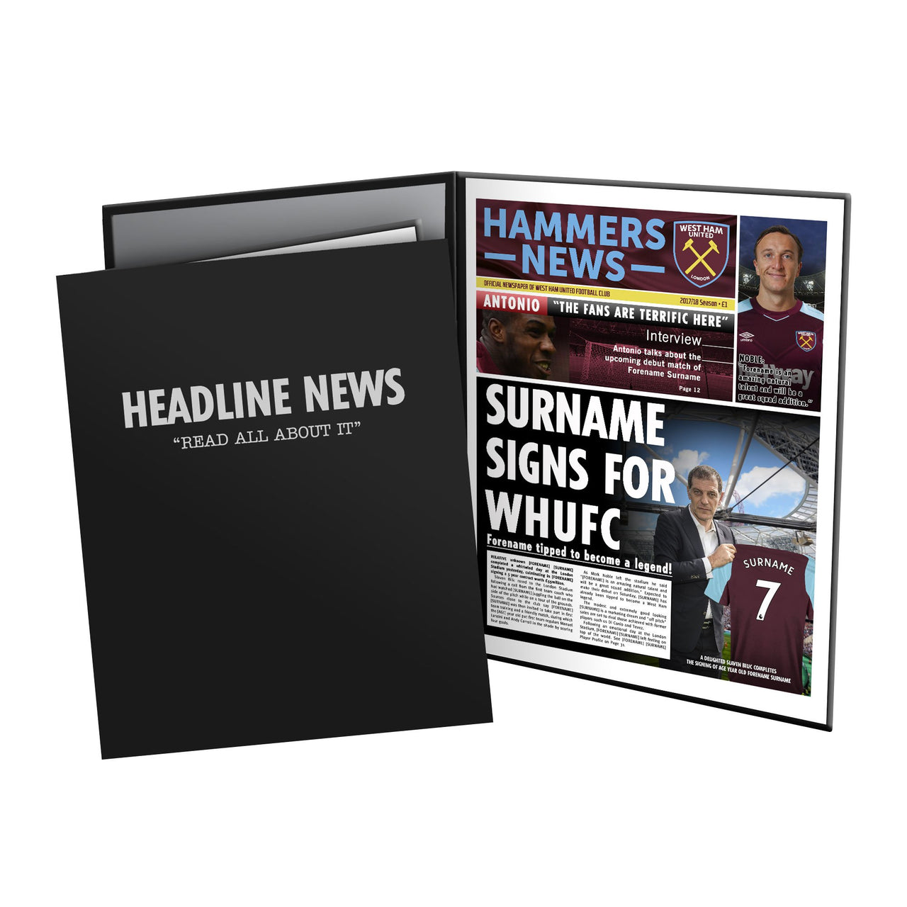 West Ham United FC News Folder