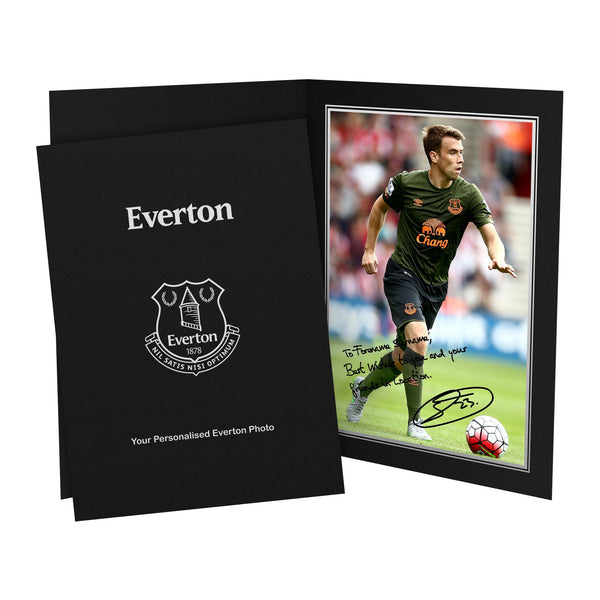 Everton FC Coleman Autograph Photo Folder