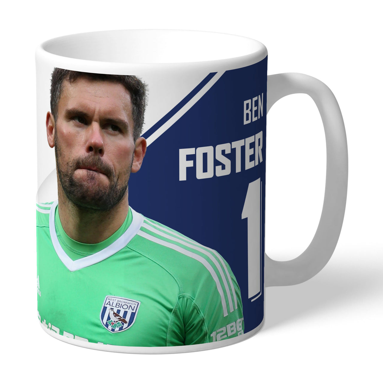 West Bromwich Albion FC Foster Autograph Mugs, Gifts