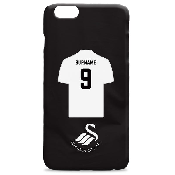 Swansea City AFC Shirt Hard Back Phone Case, Gifts