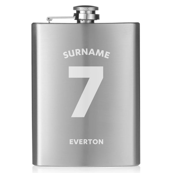 Everton FC Shirt Hip Flask