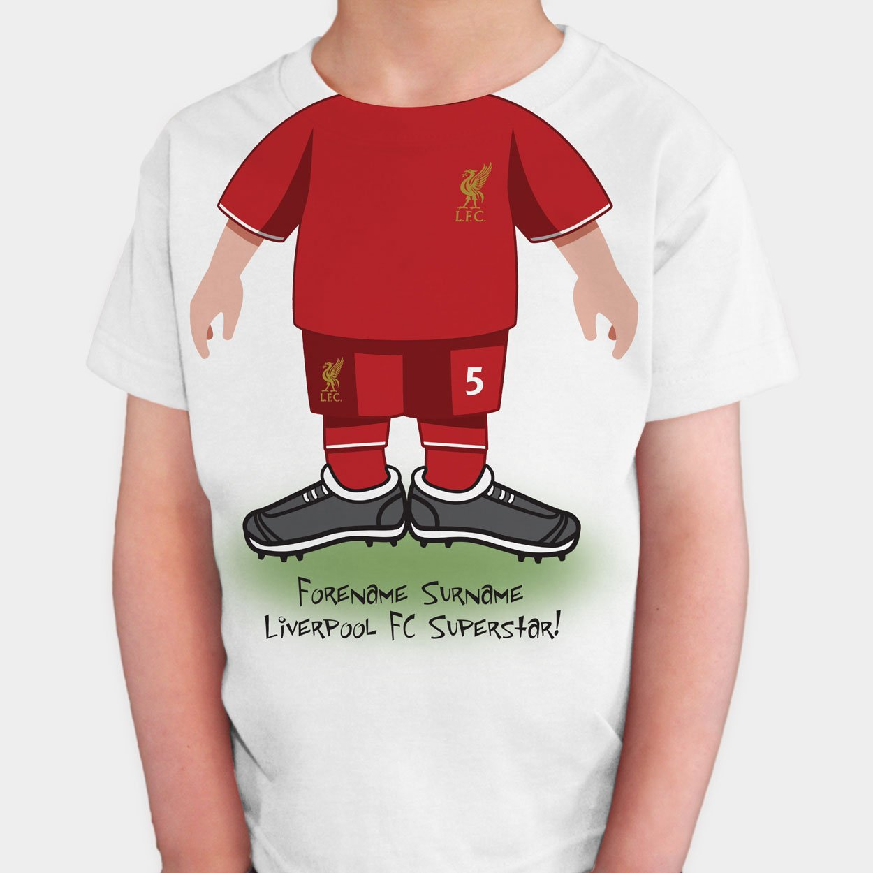 Liverpool FC Kids Use Your Head T-Shirt