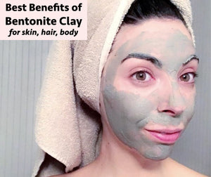 Best Benefits of Bentonite Clay for Skin, Hair, and Body