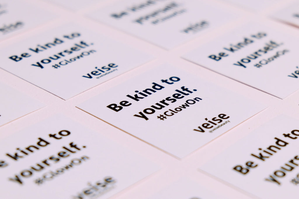 Veise Beauty Be Kind To Yourself Stickers