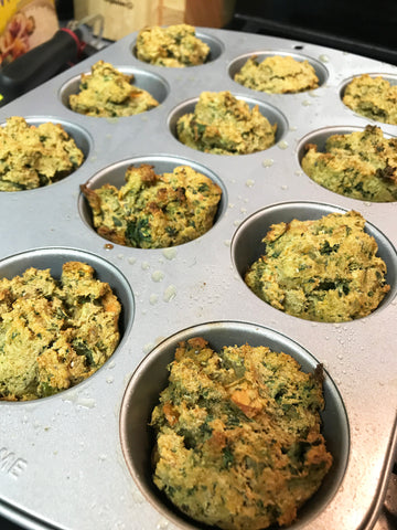 Juicer Pulp Muffins - Quick Morning Breakfast Recipe - Gluten Free, Soy Free, Dairy Free