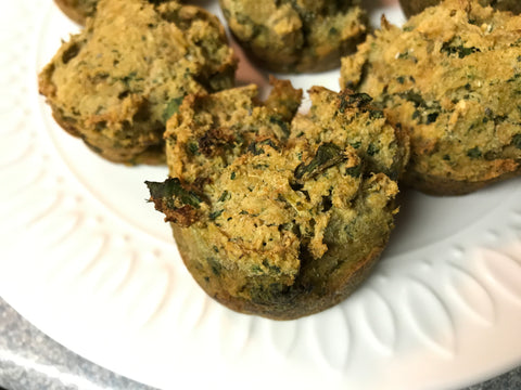Juicer Pulp Muffins - High Fiber Breakfast Muffin Recipe - Gluten Free, Soy Free, Dairy Free