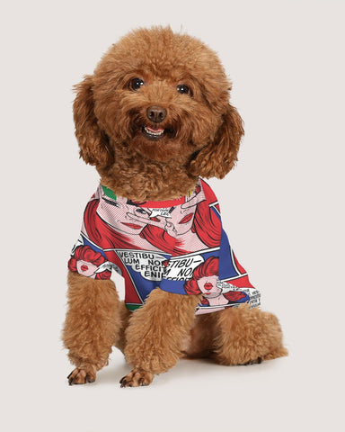 Comic Book Doggie Tee