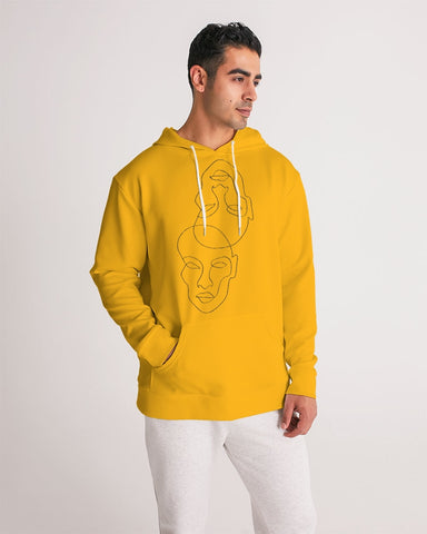 Yellow Love Men's Hoodie