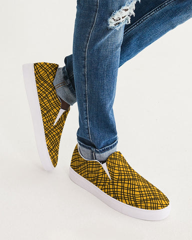 Yellow Ramba Men's Slip-On Vegan Shoe