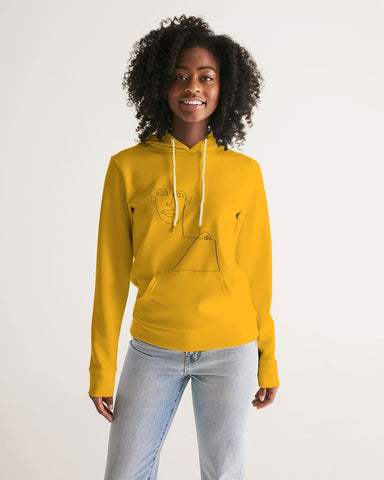 One Name Yellow Women's Hoodie