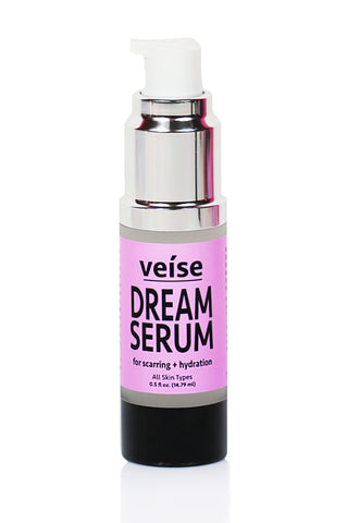 Veise Beauty Dream Serum - Hyaluronic Acid and Vitamin C serum for acne scarring, hyperpigmentation, anti-aging, hydrated skin. Organic Serum and Skincare