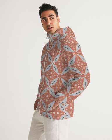 Ice Flower Men's Windbreaker