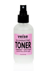 Veise Beauty Illuminating Toner with Rosewater, Alcohol Free Witch Hazel - organic skincare