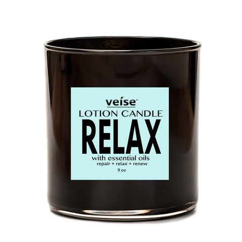 Relax 2-in-1 Body Lotion Candle - FRË Cosmetics