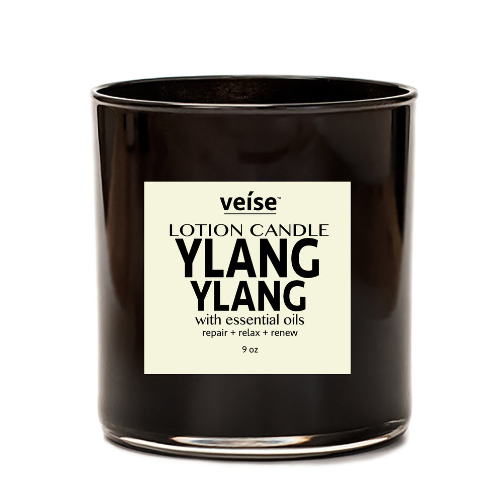 Ylang Ylang 2-in-1 Body Lotion Candle - FRË Cosmetics