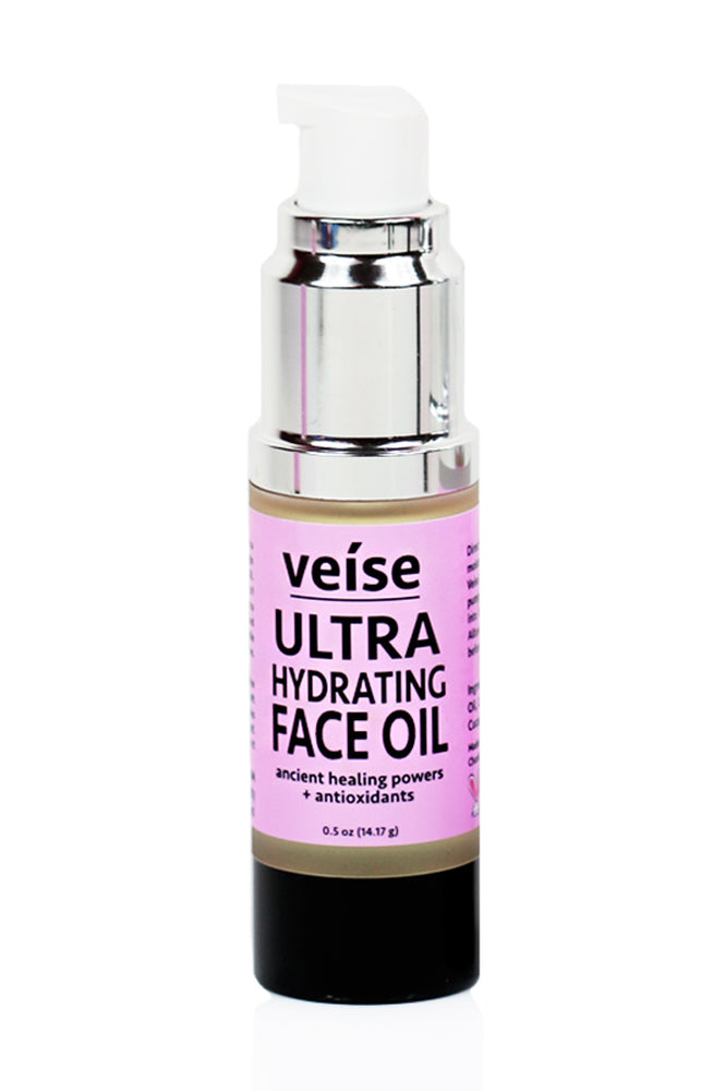 Veise Beauty Ultra Hydrating Face Oil with Virgin Marula Oil and Cold Pressed Cucumber Oil for anti-aging