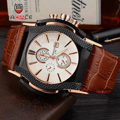 BADACE Luxury Top Brand Quartz Watches Mens
