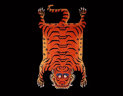Tibetan Tiger Rugs & Carpets