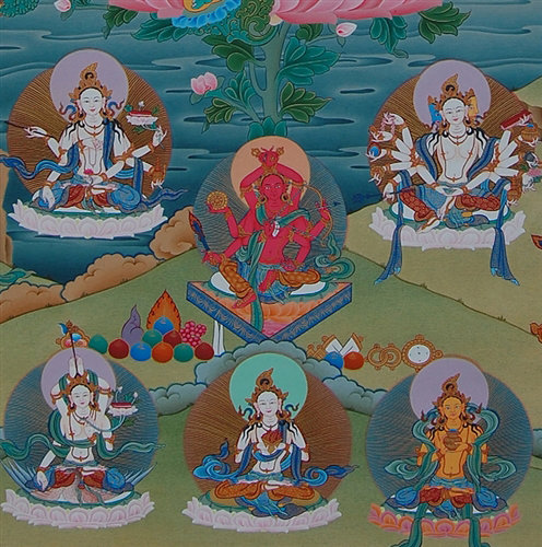 Masterpiece 21 Taras Thangka