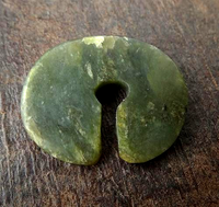 Ancient South East Asian Jade Earring - 31mm