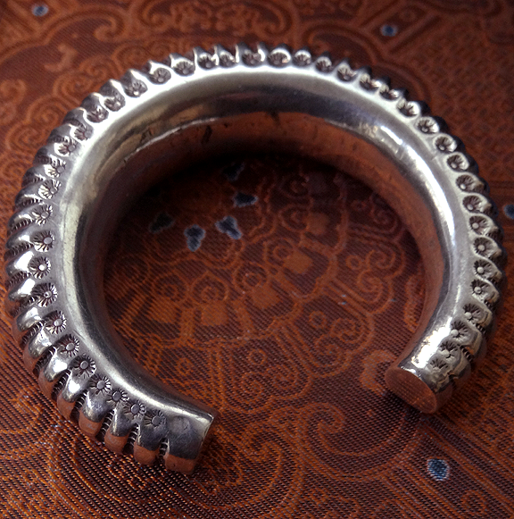 Large Indian Tribal Bangle from Gujarat