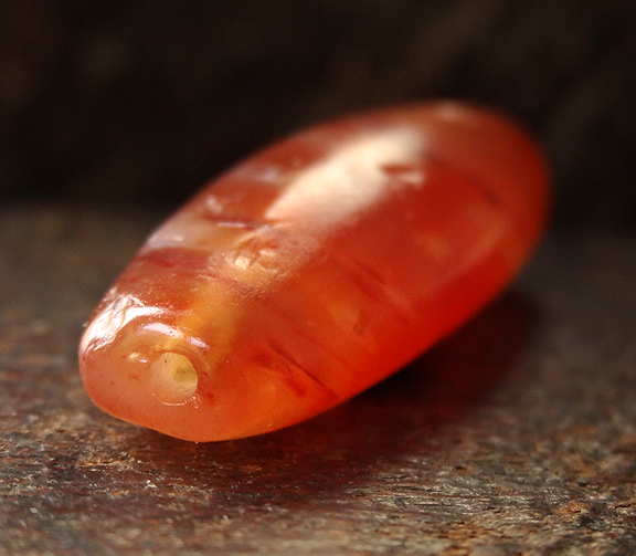 Ancient Pyu Carnelian Bead - 38mm