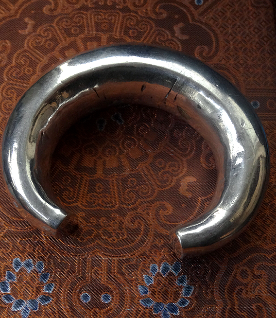 Large Antique Indian Tribal Bangle from Rajasthan