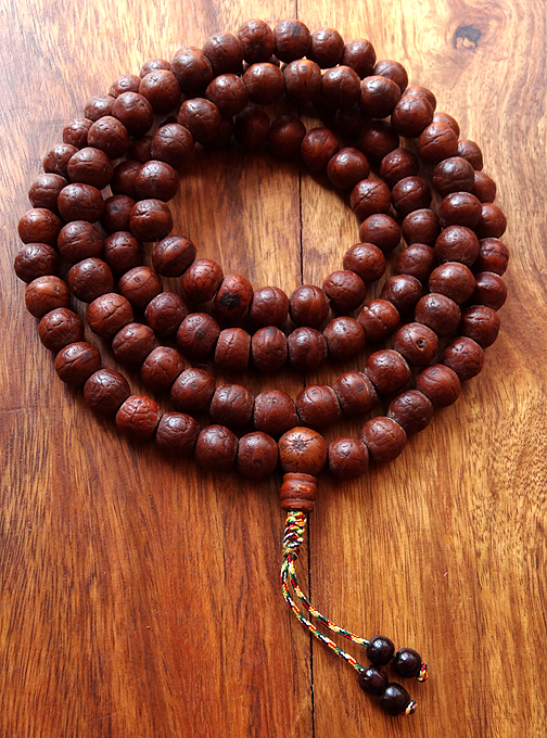 Natural Nepalese Bodhiseed Mala - 10 to 11 mm