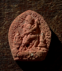 Antique Chakrasamvara or Korlo Demchog Tsa Tsa