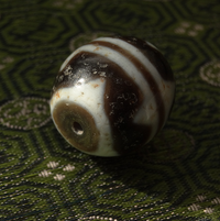 New Tiger dZi Bead - 21 mm