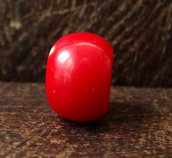 Imitation Coral Bead - 22 mm