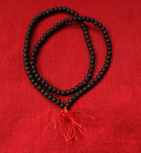 Small Rosewood Bead Strand/Necklace/Mala - 6 mm