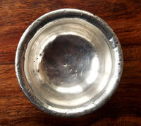 Antique Tibetan Wooden Cup lined with silver - 19th C
