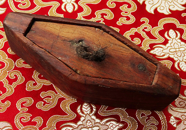 Antique Tibetan Wooden Butter Container
