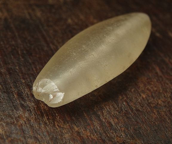 Ancient Rock Crystal Bead - 42 mm
