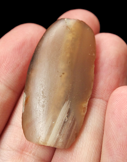 Large Ancient Chalcedony Bead - 39mm