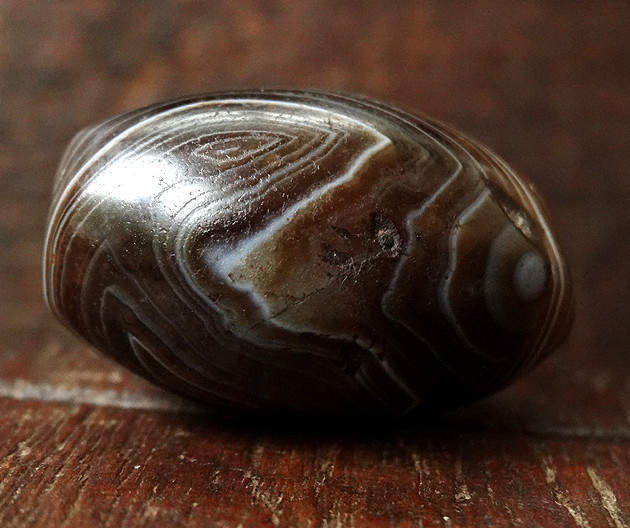 Ancient Agate Bead - 29 mm