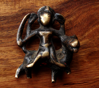 Antique Bronze Figurine of the Goddess Durga